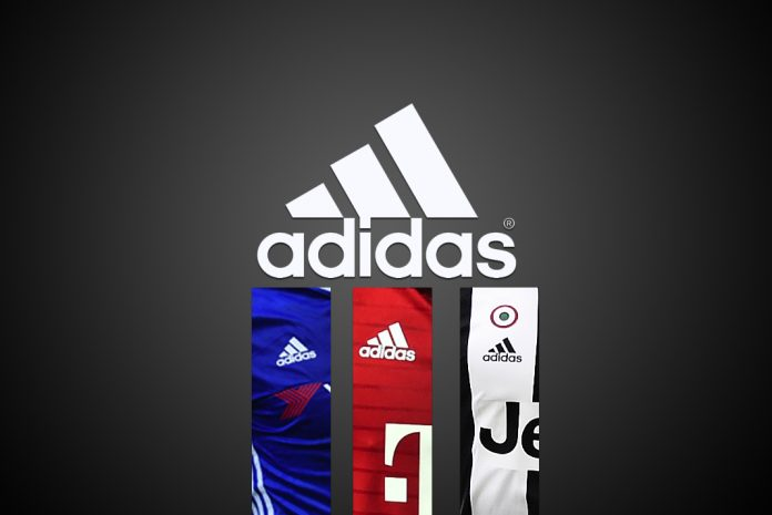 adidasAdidas emerging winner,Soccer teams,Adidas three-striped logo,Europe's soccer leagues,champions, Europe's soccer league