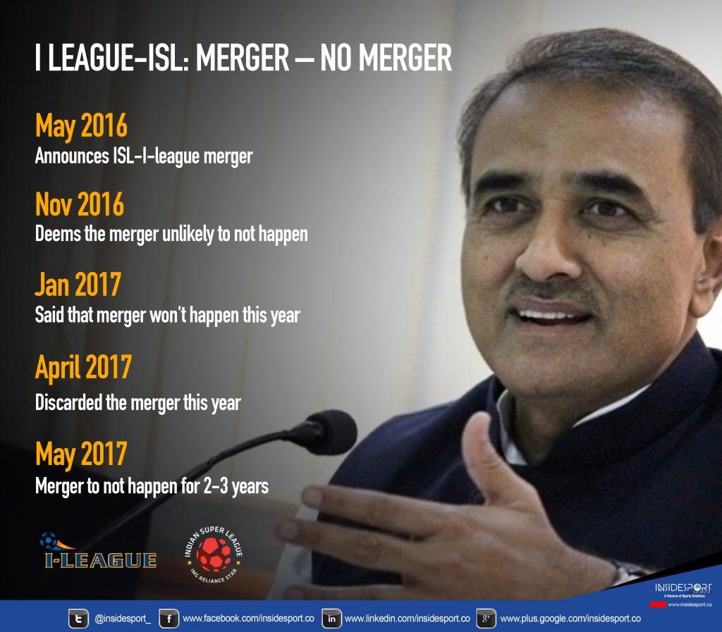 ISL-I-league merger