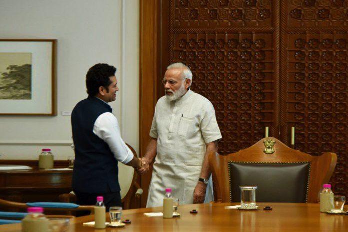 Sachin Tendulkar,Prime Minister Narendra Modi,PM Modi Sachin Tendulkar Meet,Sachin: A Billion Dreams,Sachin Biopic Movie
