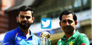 #INDvsPAK,India VS Pakistan Highest Tweet,Highest Tweet Vs Pakistan India Match,record score Twitter,final create record tweet IND Vs Pak