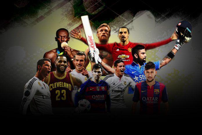 Top athletes by social media value conversion,Social Media,Facebook conversion,Twitter conversion,athletes social media account