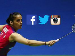 Saina Nehwal Social Media,PV Sindhu Social Media,Jwala Gutta Social Media,most followed Indian badminton star,Social Media popular badminton star