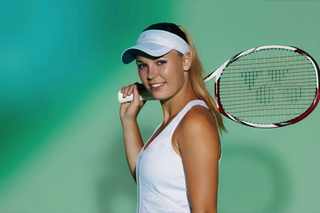 After Serena, Danish ace Caroline bares it all for photo