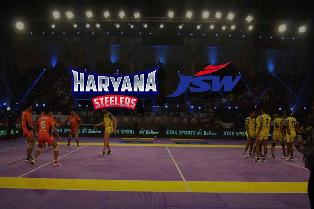 PKL: 6 partners on board for JSW owned Haryana Steelers