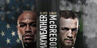 Mayweather Vs McGregor,ring at T-Mobile Arena,T-Mobile Arena,Las Vegas,saturday night