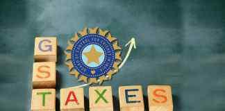 INR 44.29 lakh – BCCI's first GST payment- InsideSport