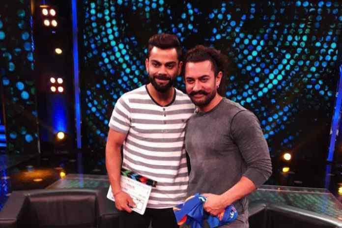 Aamir, Kohli come together for a Diwali dhamaka- InsideSport