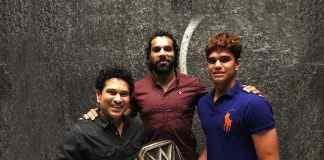 Jinder Mahal WWE,Arjun for WWE Live,Jinder Mahal WWE Live,Sachin Tendulkar Jinder Mahal,WWE wrestling
