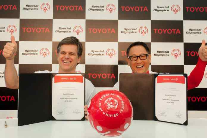 Toyota becomes Special Olympics' global partner