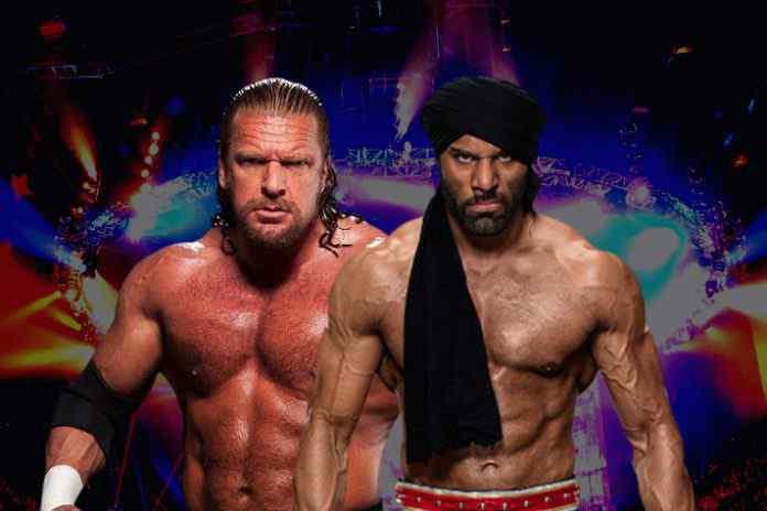 WWE Live in India,Triple H vs Jinder Mahal,Jinder Mahal,WWE Supershow'Dec 9 India,Live Indira Gandhi Stadium