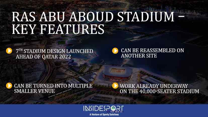 Key Features of Ras Abu Aboud Stadium in Qatar - InsideSport