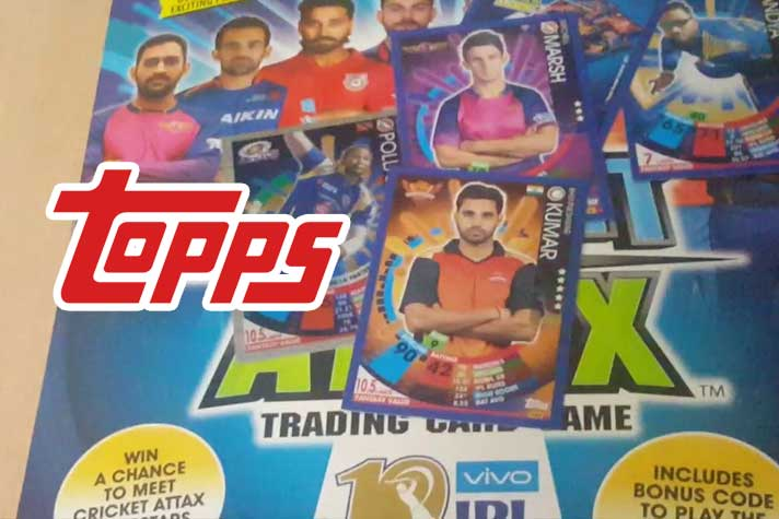 IPL, PKL cards makers Topps merges sports, entertainment