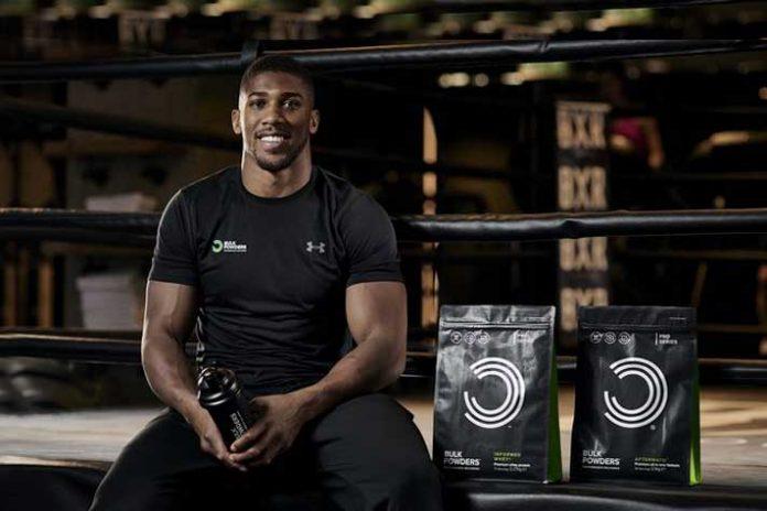 Heavyweight champion Joshua to endorse Bulk Powders - InsideSport