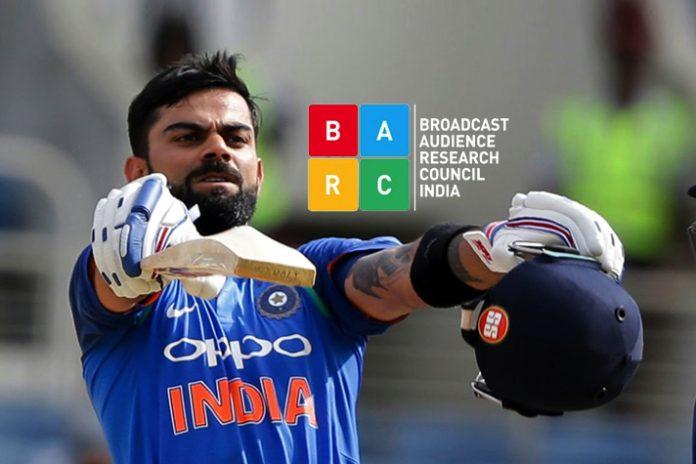 Kohli's double ton keeps cricket, SS 1 Hindi on top - InsideSport