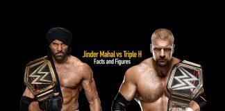 Jinder Mahal vs Triple H - Facts & Figures - Insidesport