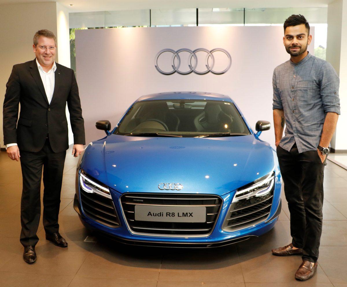 Virat Kohli - Brand Ambassador of Audi