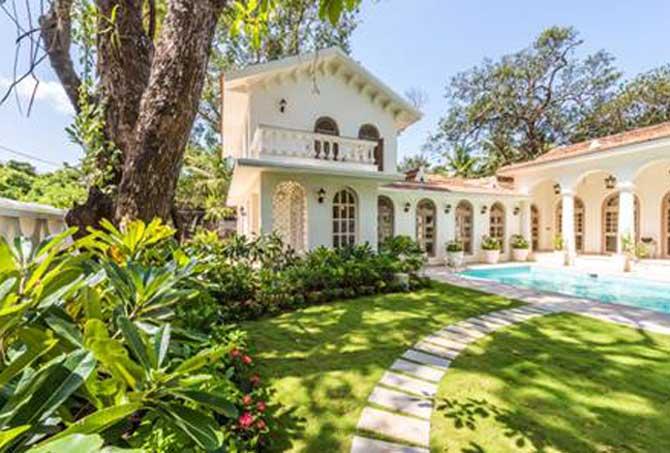 Sunil Gavaskar's Villa in Goa - InsideSport