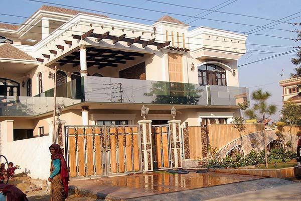 Harbhajan's house in Jalandhar, Punjab - InsideSport