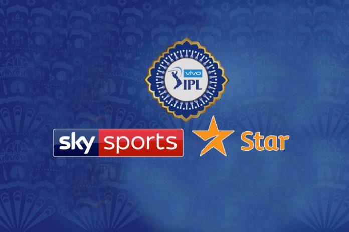 Sky Sports IPL broadcast,Indian Premier League,21st Century Fox owned Star India,Hotstar IPL Live,Sky Sports IPL Media rights