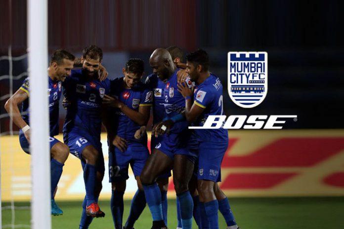 Bose official sound partner for Mumbai City FC - InsideSport