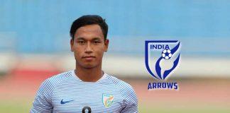 Amarjit Singh, Captain of AIFF's developmental side Indian Arrows - InsideSport