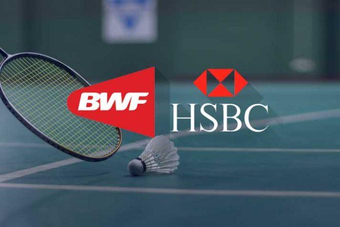 BWF signs HSBC as its principal global partner - InsideSport