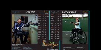 """Swarga Foundation - """"I'm Special"""" Calendar 2018 - InsideSport"""