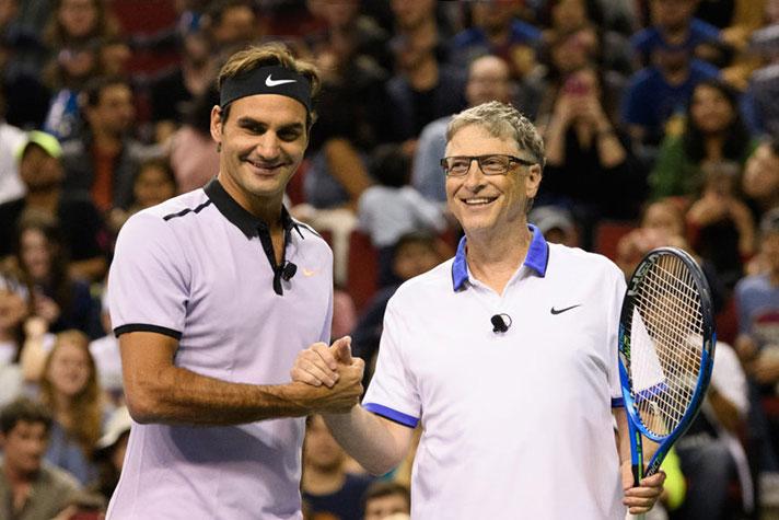 1c1f10e4f Federer to partner Gates for Match of Africa charity - InsideSport.co