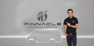 Gambhir brand ambassador for Pinnacle Speciality Vehicles - InsideSport