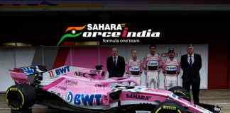 Sahara Force India F1 team has unveiled new car, VJM11, for 2018 Formula One season, new name next! - InsideSport