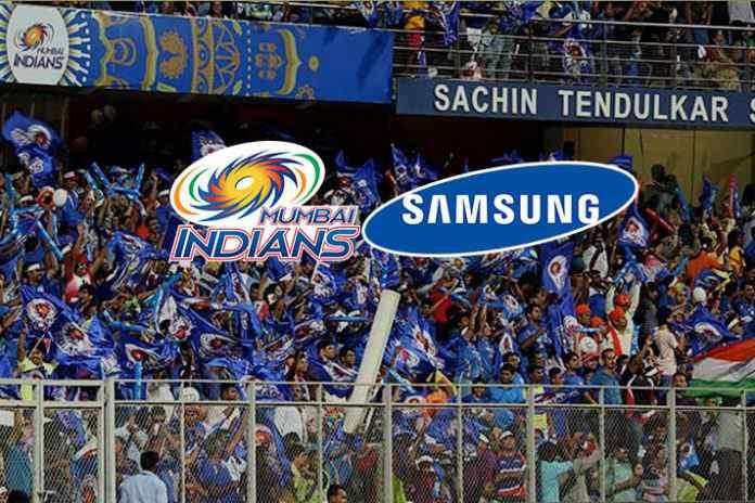 Samsung dials Mumbai Indians for title sponsorship rights! - InisdeSport