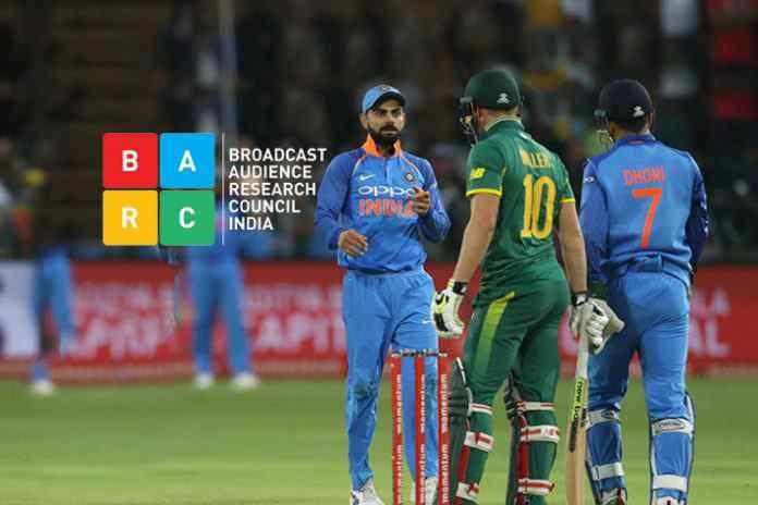 Momentum Cup ODI Series - India-SA 5th ODI, Sony Ten 1 dominate ratings - InsideSport