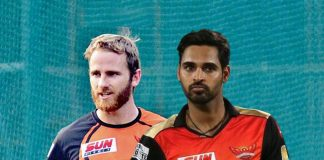Sunrisers Hyderabad names Ken Williamson as captain, replacing David Warner after ball tampering scandal and has also named Bhuvneshwar Kumar as vice president of the 2018 IPL Squad - InsideSport