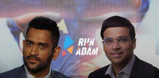 Run Adam App: Anand joins Dhoni on Run Adam expert board - InsideSport