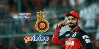 royal challengers bangalore,virat kohli IPL,goibibo IPL Sponsorship,indian premier league,ipl 2018 sponsorships