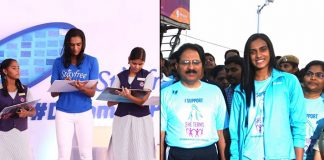 PV Sindhu joins menstruation awareness, women safety drives -InsideSport