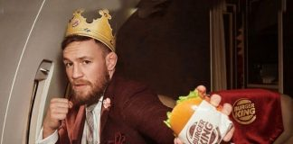 Burger Kings finds a 'strong' brand ambassador in Conor McGregor - InsideSport