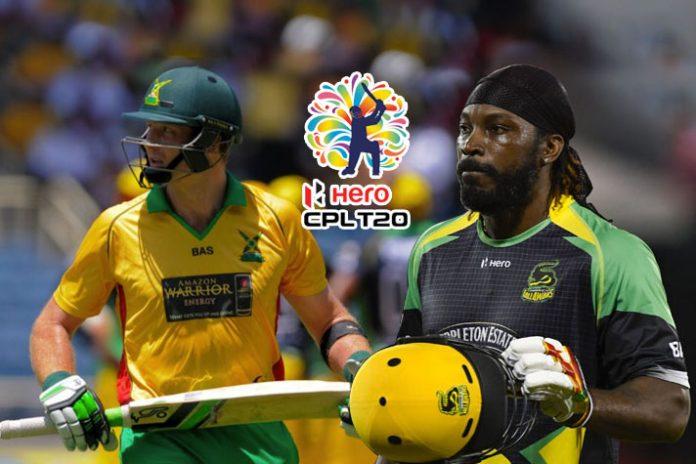 2018 Hero CPL T20, Caribbean Premier League, 2018 Hero CPL, hero cpl 2018 player draft, Martin Guptill, Lendl Simmons, Chris Gayle
