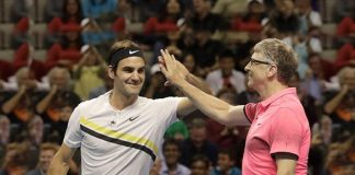 Roger Federer and Bill Gates during 'Match For Africa' charity match at SAP center, San Jose on 5th March, 2018 - Federer- Bill Gates 'Match for Africa' raises $2.5 million - InsideSport