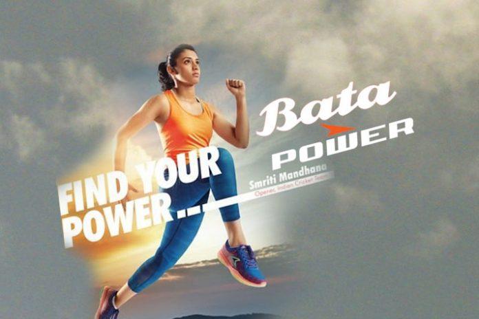 Smriti Mandhana - Brand Ambassador of Bata Power Shoes - InsideSport