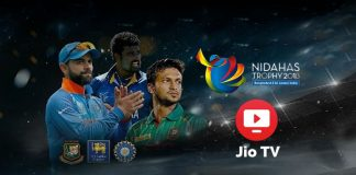 Nidahas Trophy 2018: JioTV offers interactive sports experience for Nidahas Trophy viewers - InsideSport