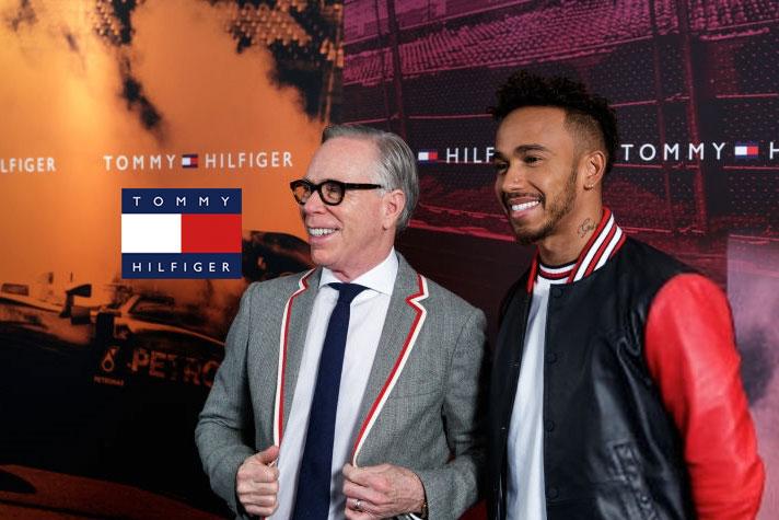 726bd5df Lewis Hamilton global brand ambassador for Tommy Hilfiger ...