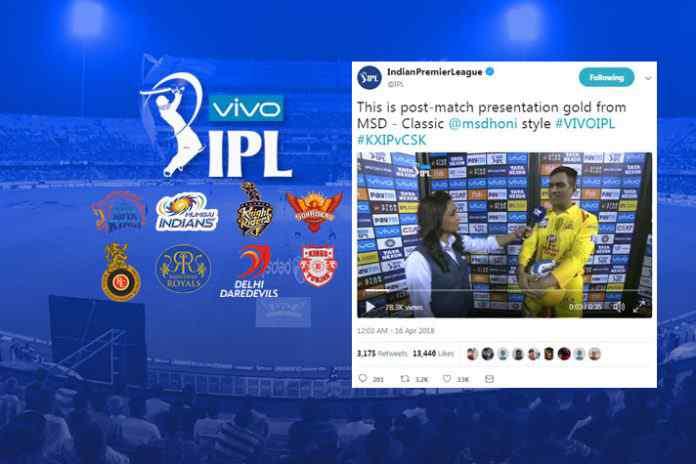 IPL 2018: #WhistlePodu leads tweet chart in IPL week 2 - InsideSport