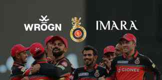IPL 2018: WROGN & IMARA To Be RCB's Official Lifestyle Partners - InsideSport