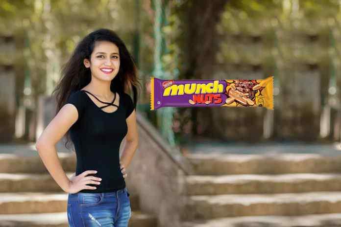 Priya Prakash Varrier face of Nestle Munch IPL campaign - InsideSport