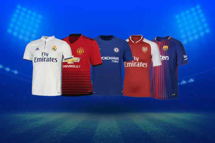 arsenal,as roma,shirt sponsorship deals,premier league clubs,premier league