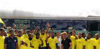 IPL 2018 Chennai Super Kings: Yellow army follows Chennai Super Kings to Pune - InsideSport