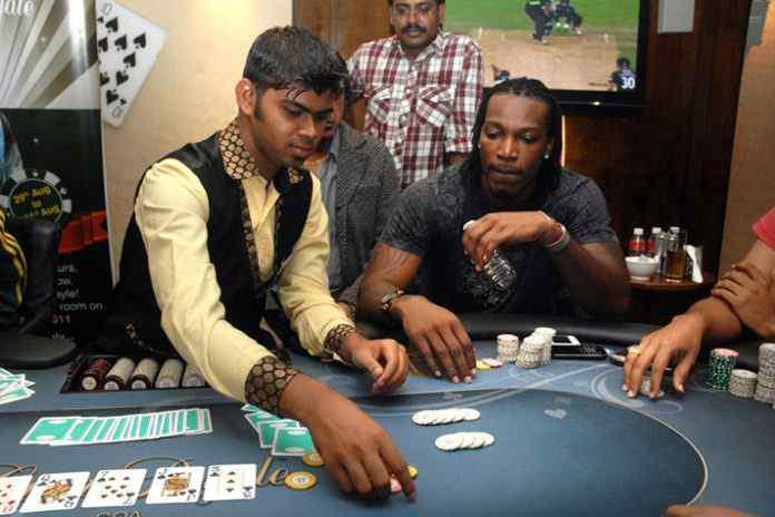 Chris Gayle: 'Super Boss' Chris Gayle promotes Adda52's Deltin Poker Tournament - InsideSport