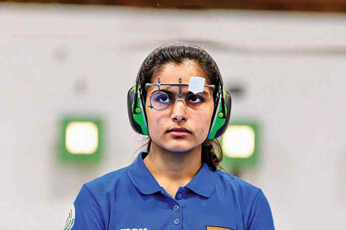 Indian CWG shooting gold medallist Manu Bhaker has been signed as the brand ambassador of Haryana's Measles and Rubella vaccination campaign in Haryana - InsideSport