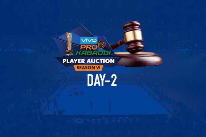 auctions,pkl auctions 2018,pkl auction day 2,Pro Kabaddi League Auction,PKL Auction Day 2 Live Update